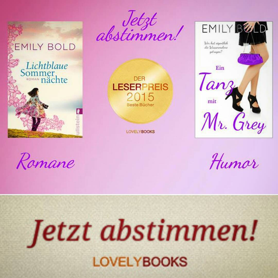 Der LovelyBooks Leserpreis 2015 ist der grte Publikumspreis im deutschsprachigenhellip
