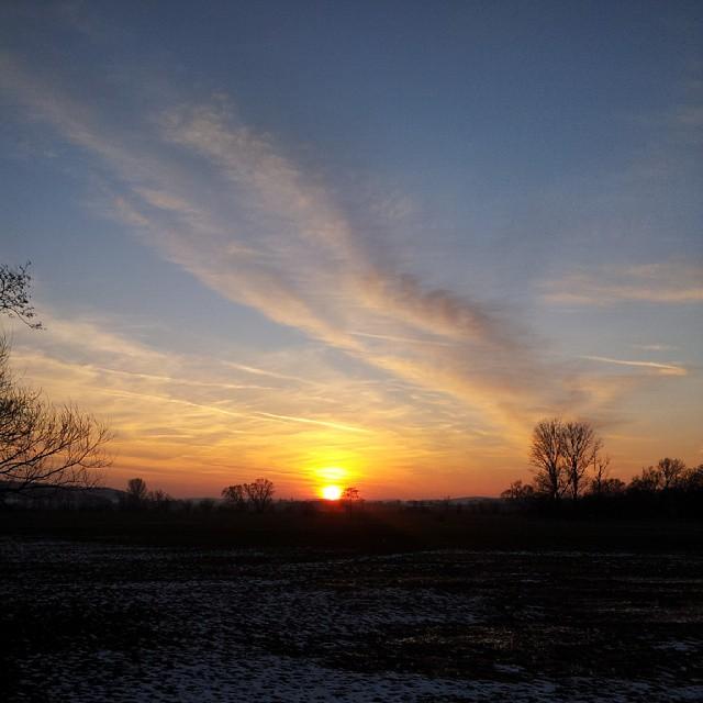 Hach, was für ein wunderschöner #Sonnenuntergang - Balsam für die…