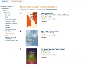 Amazon Kindle-Shop, 03.07.11, 18.45 Uhr
