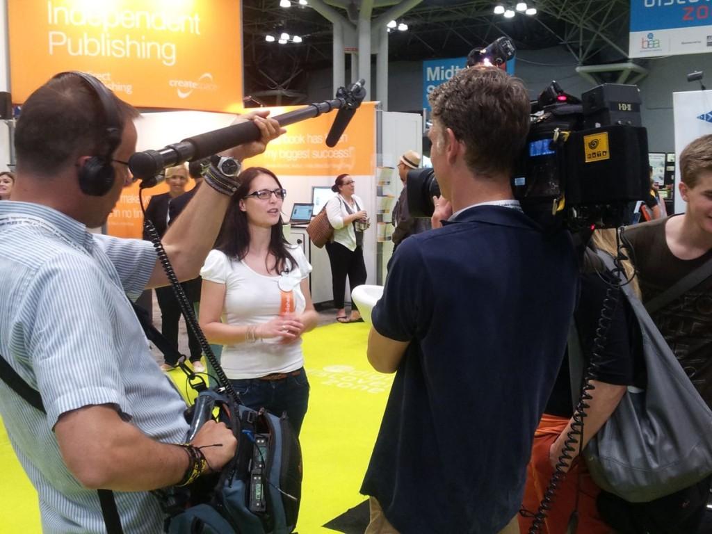 Auf der Book Expo Amerika in New York