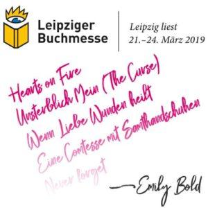 Triff mich auf der Leipziger Buchmesse!