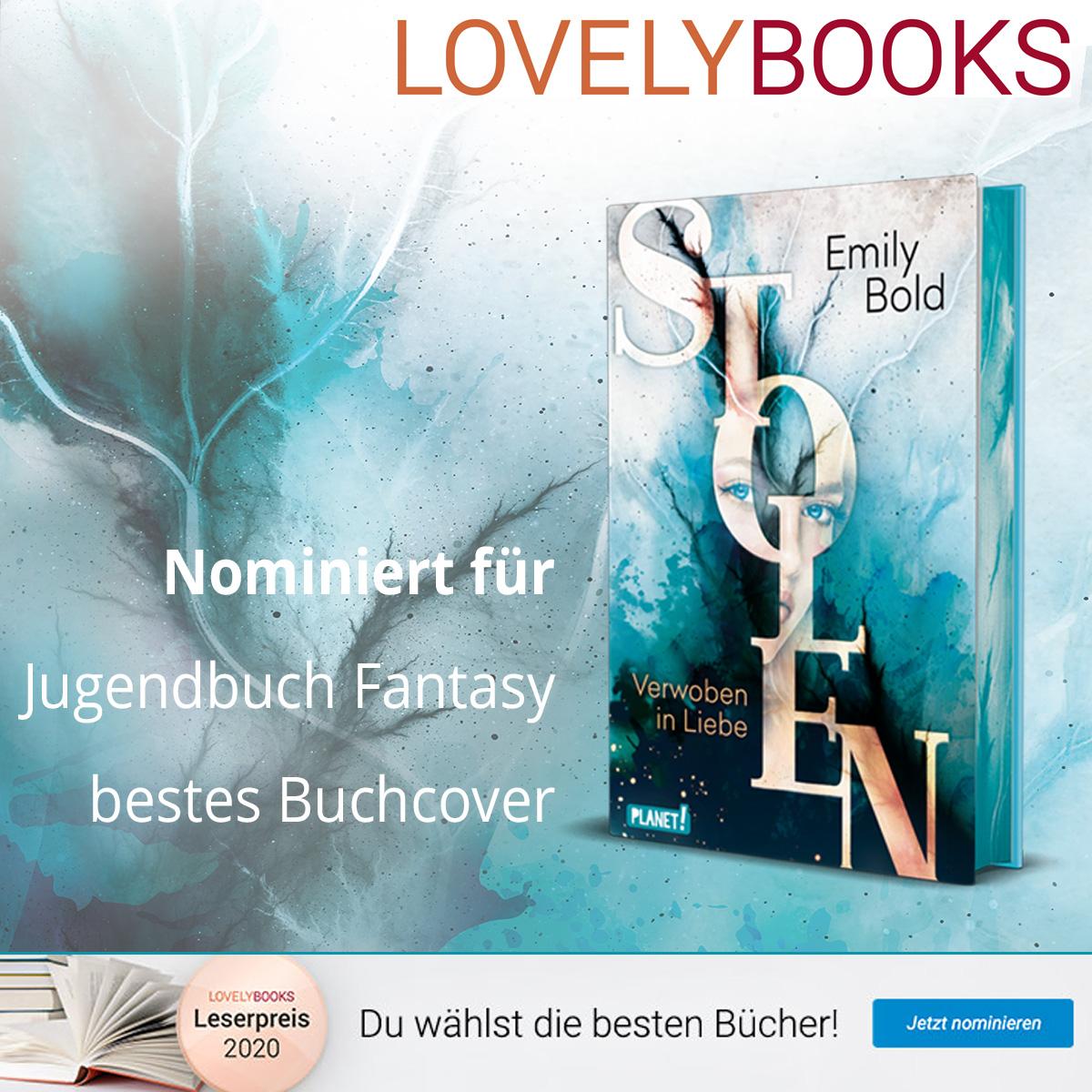 Nominierung Lovelybooks 2020